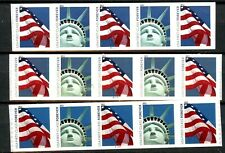 Lady Liberty & Flag Set of 3 PNC5s Scott's 4486 to 4491 MNH As Shown