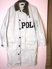 VTG Style Polo Ralph Lauren Corduroy Trim Barn Jacket Coat S