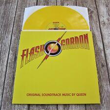 QUEEN : Flash Gordon (Soundtrack) - Yellow Coloured Vinyl LP Album 2015 Record