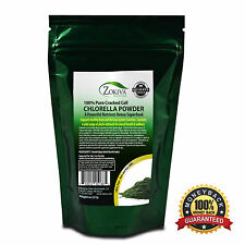 Chlorella Powder 8oz  - Cracked Cell, Raw 100% Pure Nutrient-Dense Algae