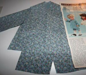 2 KITS découpés,vetement poupee Jean MICHEL MODES ET TRAVAUX Oct et Nov 1975