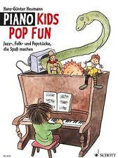 Piano Kids Pop Fun - Heumann - Jazz-, Folk - und Popstücke - Klavier