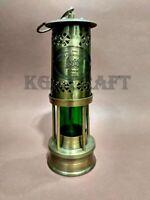 "Vintage Brass Minor Oil Lamp Nautical Maritime Ship Lantern 11"" Boat Lantern"