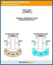 Perfume Concert Ticket 9/3/16 Hammerstein Ballroom NYC