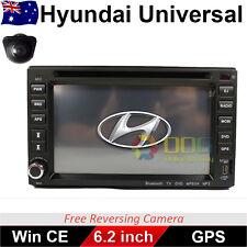 "6.2"" Double 2 DIN Car DVD Player Radio Stereo GPS BT CD for Hyundai Universal"