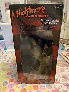 Nightmare on Elm Street Freddy Krueger Glove Prop Replica 1984 Neca  Unopened
