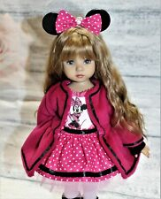 """Minnie outfit for Little Darling, Dianna Effner 13"""", 14 pc"""