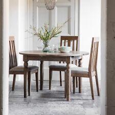 Frank Hudson Cookham Round Oak Extending Dining Table