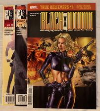Black Widow #1 - 3 Marvel Knights Comics by Grayson, Rucka & Hampton 1999
