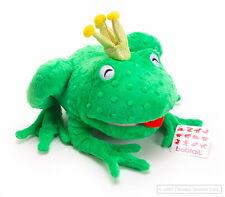 "NEW GREEN FROG FRANCIS BURPY - 10"" Tall  Plush Stuffed Animal Toy bagged Kermit"