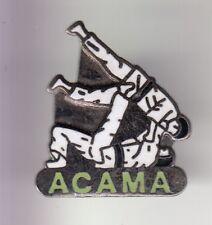 RARE PINS PIN'S .. SPORT JUDO DOJO CLUB ACAMA COMBAT ART MARTIAL BEUVRY 62 ~DM