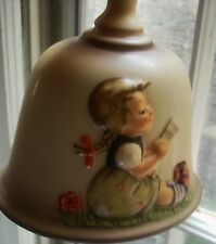 Goebel Hummel W. Germany 8th Edition Girl 1985 Annual Bell Hum707 rings nicely