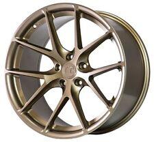 18X9 AodHan LS007 5X114.3 +30 Bronze Wheels Fits Accord Rsx Tsx TL Rx8 Is300