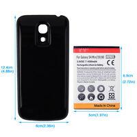 4300mAh Backup Battery + Back Protective Case For Samsung Galaxy S4 mini i9190
