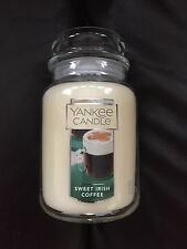 YANKEE Candle Sweet Irlandese 🍀 Caffè Grande Giara. USA Esclusivo. St Patrick's Day