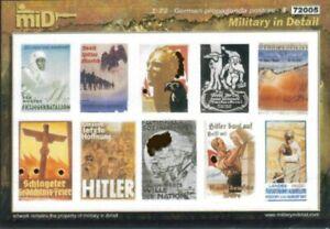 Military In Detail 1/72 German Posters #4