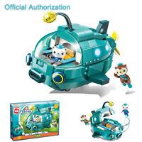 The Octonauts Building Block GUP-A Vehicle Barnacles Dashi Kids Toy 323Pcs Gift