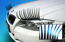 CarLashes® OMBRE BLUE Car Eyelashes for Headlights 3D Vehicle Decal