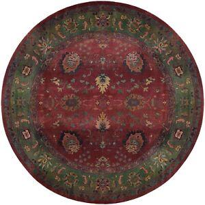 Oriental Weavers - Sphinx Division Kharma 807C Raspberry Rug - 6' Round