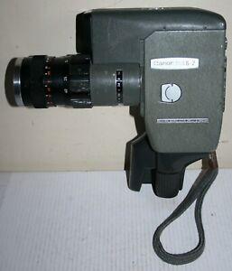 Canon Reflex Zoom 8 - 2 Standard 8mm Cine Film Camera - Home Movie & Case Works