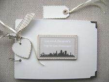 PERSONALISED SAN FRANCISCO TRIP .A5 SIZE  PHOTO ALBUM/SCRAPBOOK/MEMORY BOOK