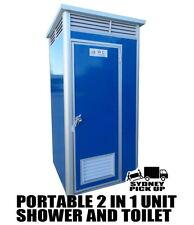 Brand new 1.2 Meter Portable Builders Toilet and Shower unit