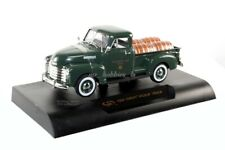 1950 CHEVY PICK UP TRUCK WILLAMETTE VALLEY WINERY DIE CAST 1/32 GREEN SIGNATURE