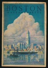 Boston Massachusetts 1934 First Edition with Photographs