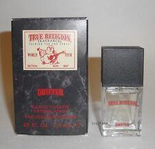 TRUE RELIGION DRIFTER MEN COLOGNE 7.5 ml /.25 oz EDT EAU DE TOILETTE SPRAY NIB
