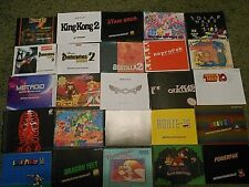 MANY Titles to choose from! Homebrew, Repro MANUAL Only, NES Free ship inUSA!!