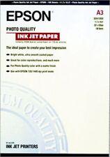 Epson Pap Couché Qual Photo A3 (100f./102g) Papier photos