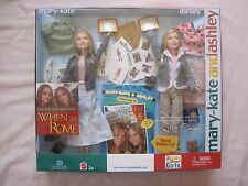 RARE MARY~KATE & ASHLEY WHEN in ROME DOLL SET. New In The Box!!!!