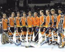 1986 EDMONTON OILERS Send 10 to NHL ALL STAR GAME 8x10~GRETZKY~MESSIER~KURRI~@