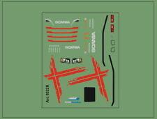 H0/1:87 DIS0322R Schwedenkreuz Decal für Scania Zugmaschienen CS/CR