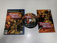 * Sony Playstation  2 Game * DYNASTY TACTICS 2 * PS2