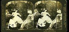 H.C White Co Photo stéréo after the ball la femme de chambre déshabille madame