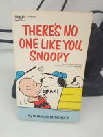 There's No One Like You Snoopy by Charles M Schulz Paperback Book 1973