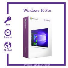Genuine Microsoft Windows 10 Pro Professional 32/64bit Product Activation Key