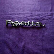 -1989- Buick Reatta-Reatta Door Emblem
