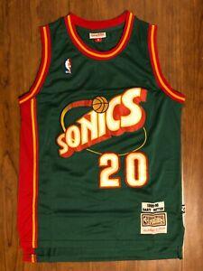 Men's Seattle Super Sonics #20 Gary Payton Jersey