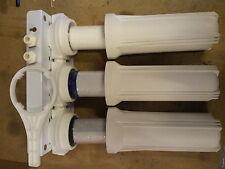"""10"""" Wasserfilter Gehäuse  3er Set CTO Filter GAC Filter PP Filter komplett 1/2"""