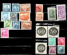 Lot Of 9 South America Postage Stamps 1920s - 1940s Vintage Brazil Columbia Etc