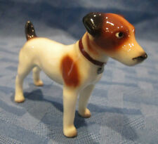 Hagen Renaker Miniature, Jack Russell Terrier Dog, #3255, Made in Usa