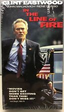 In The Line Of Fire Clint Eastwood 1993 VHS 52313