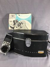 Bell And Howell Perpetua Electric Eye Director Series 8mm Camera + Case + Manual