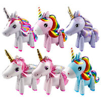 3D Rainbow Unicorn Foil Balloons Baby Shower Kids Favor Birthday Party Decor