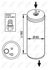 Dryer, air conditioning NRF 33114