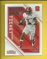 Nyheim Hines RC  2018 Contenders Draft Picks Game Day Ticket Rookie Card Colts