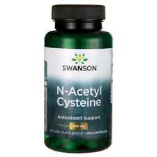 SWANSON PREMIUM NAC N-Acetyl Cysteine 600mg x 100 capsules