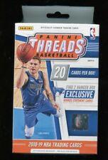 2018-19 Panini Threads NBA Basketball Hanger Box - Luka Doncic Rookies